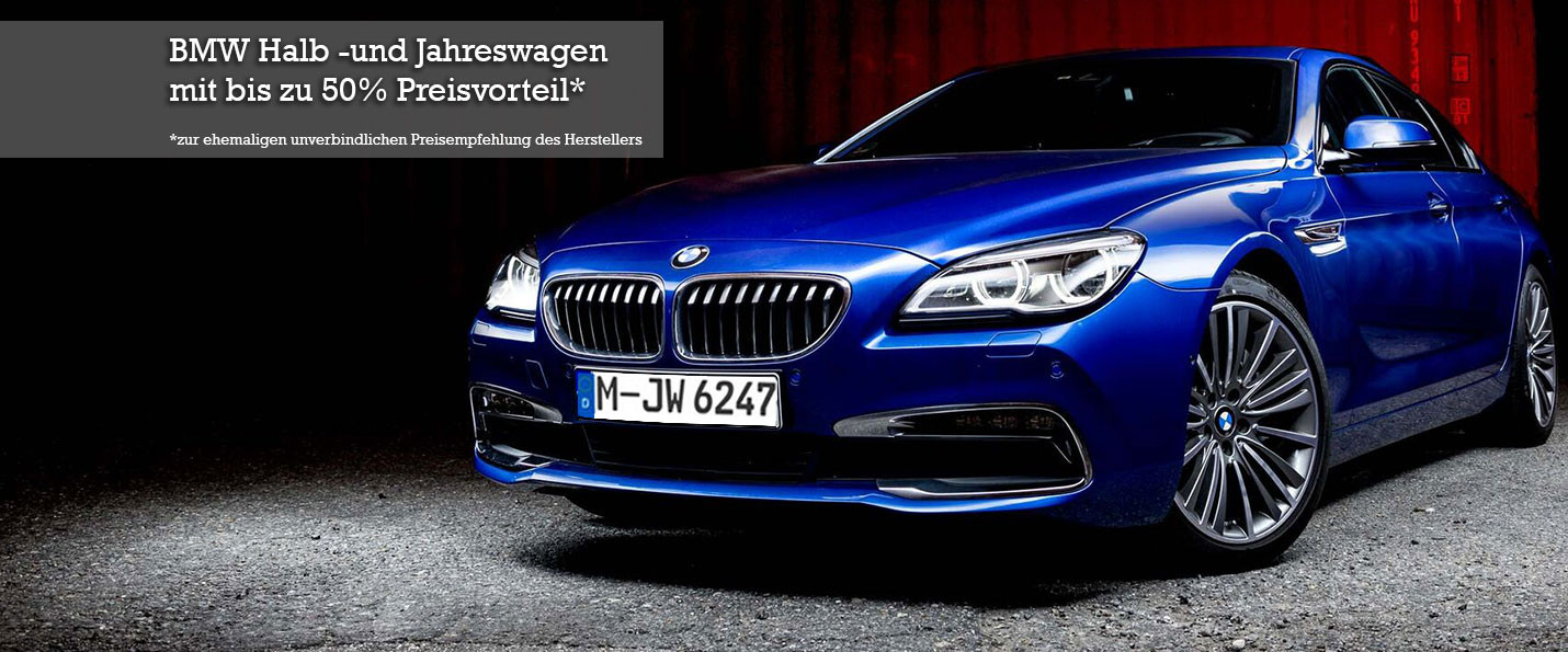 BMW 6er Gran Coupe Blau